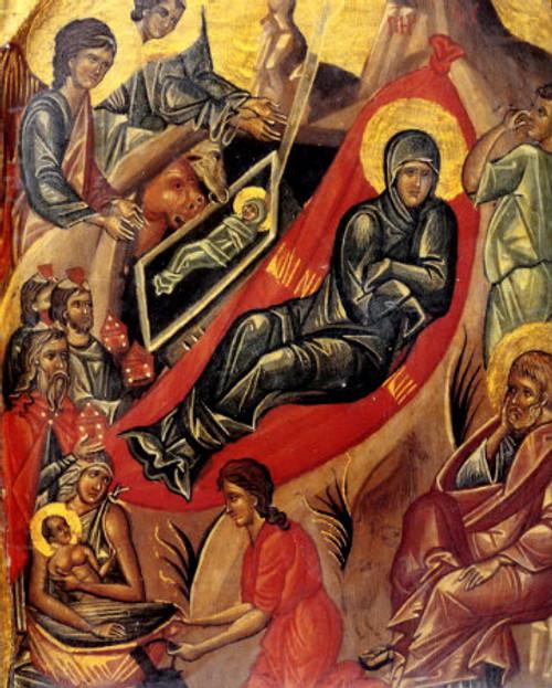 Nativity of Christ Icon- Icon VII