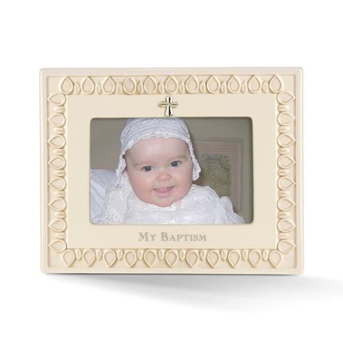 My Baptism Ceramic Frame