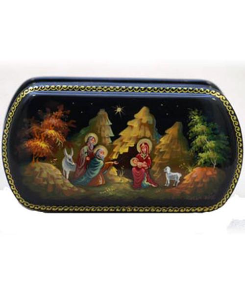 Nativity Scene Lacquer Box