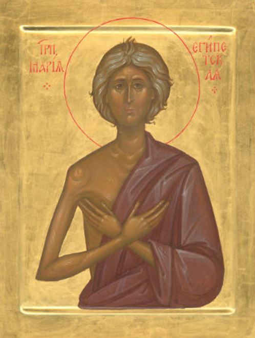 St. Mary of Egypt Icon- Icon IV