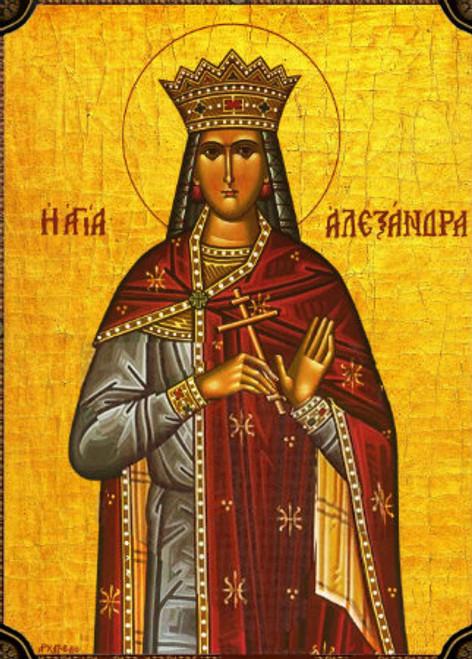 St. Alexandra of Rome Icon- Icon II