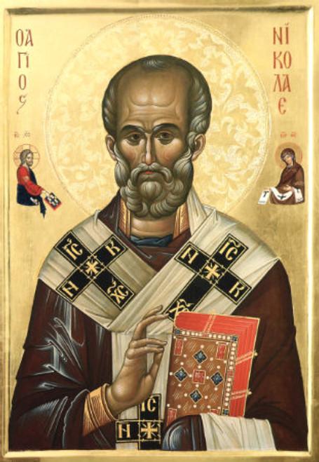 St. Nicholas Icon- Icon X