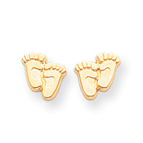 14KT Right to Life Witness Earrings