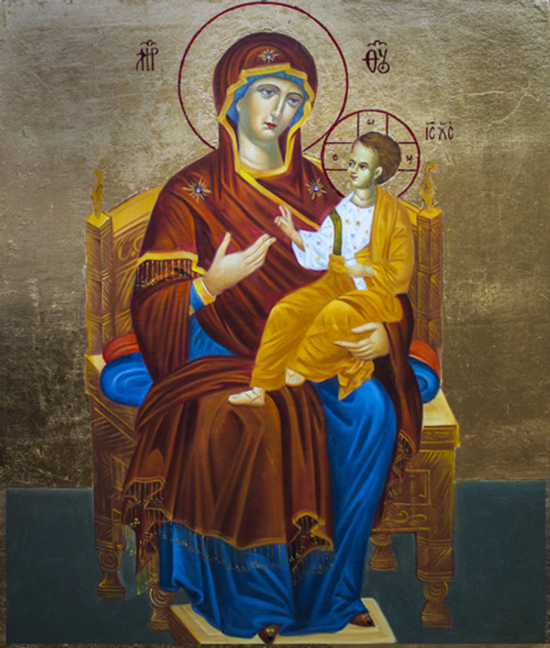 Theotokos Enthroned Icon