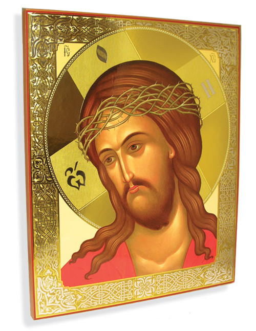 Humility of Christ Gold Foil Icon- XL