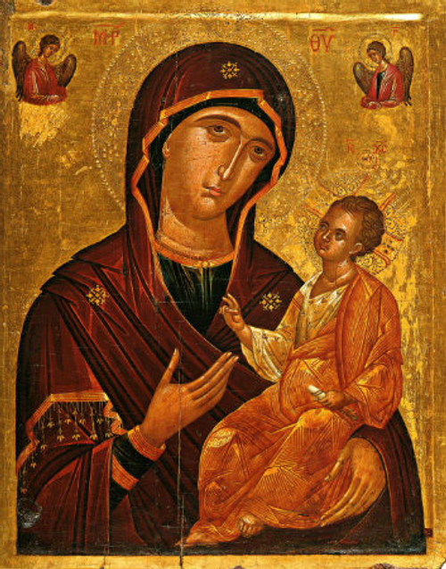 Theotokos and Christ-Child Icon: Icon III