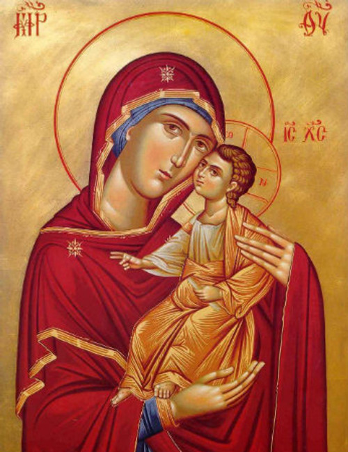 Theotokos and Christ-Child Icon: Icon IV