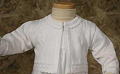 Girls Extra Fine Acrylic Sweater (Infant Sizes)
