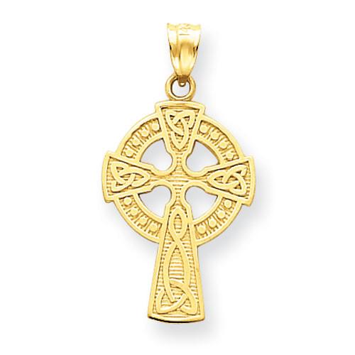 14KT Celtic Cross Pendant