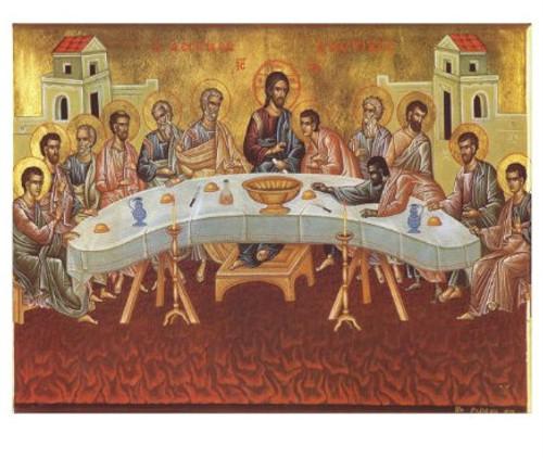 """Mystical Supper Icon: 24 x 30"""" Canvas Icon"""