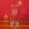 Dartmouth Etched Crystal Pint