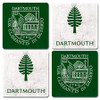 Thirsty Coasters 4-Pack with Shield and Lone Pine