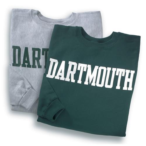 Dartmouth Reverse Weave Crewneck Sweatshirts