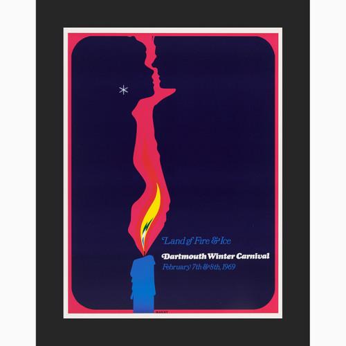 Framed 1969 Winter Carnival Poster