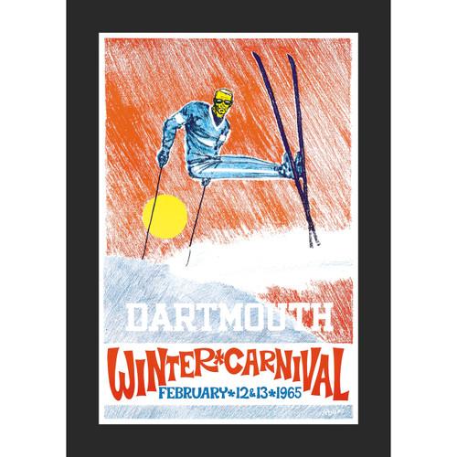 Framed 1965 Winter Carnival Poster