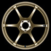 Advan RGIII - Racing Gold Metallic & Racing Gloss Black - 5x114.3 - 6-Spoke - 18x10.5 (+25/+15)