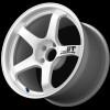 Advan GT 18x9.5 +22 - 5x114.3 - Semi-Gloss Black / Racing White