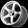 Advan GT 18x11.0 - 5x114.3 - Semi-Gloss Black / Racing White