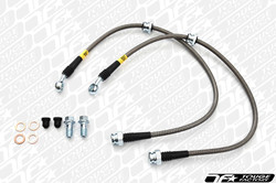 StopTech 08-10 Mitsubishi Evo 10 Stainless Steel Front Brake Lines