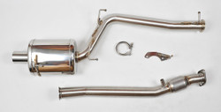 "Berk 04-09 AP2 Honda S2000 3"" Header Back Exhaust With High Flow Cat"
