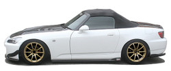 Charge Speed Bottom Line Side Skirts: FRP - Honda S2000 AP1/2