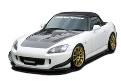 Charge Speed Bottom Line Front Lip: Carbon - Honda S2000 AP2