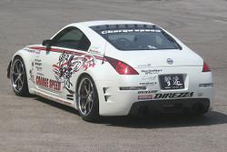 Charge Speed Rear Bumper: FRP - Nissan 350Z Z33