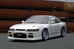 Charge Speed JDM D-1 Style, 20mm Wide Body Front Fenders (Pair) - Nissan Silvia 240SX S13