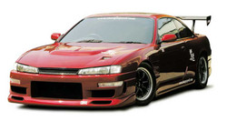 Charge Speed Kouki FRP Front Bumper - Nissan 240SX S14