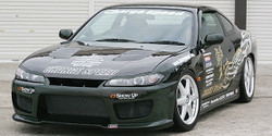 Charge Speed Type-2 FRP Front Bumper - Nissan Silvia / 240SX S15