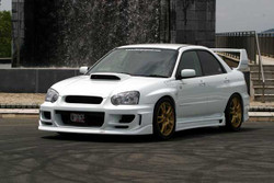Charge Speed D1 FRP Front Fenders (Pair) - Subaru WRX GD