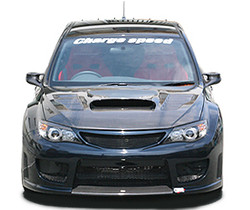 Charge Speed FRP Fiber Hood w/ Vents - Subaru WRX STi GR