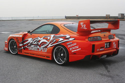 Charge Speed Super GT Wing - Toyota Supra JZA80