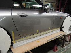Voltex Side Step Version 2 (Street - FRP) - Honda S2000 AP1 AP2