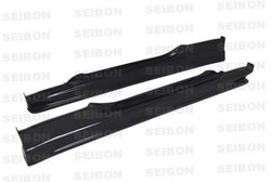 Seibon CW Carbon Fiber Side Skirts - Nissan 350Z 2002-08