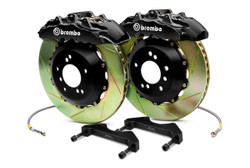 Brembo GT Black Front Slotted Big Brake Kit 380x32 - 09-14 Nissan 370Z