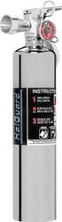 H3R Performance HalGuard Clean Agent Car Fire Extinguisher 2.5 lb - CHROME
