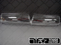 Circuit Sports Clear Headlight Cover - Nissan 240sx S13 Silvia