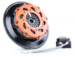 QuarterMaster 8-Leg Race Clutch w/ Flywheel & Release Bearing - 03-06 Mitsubishi Evolution 8/9