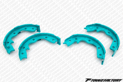 Project Mu Sport Rear Brake Shoes - Z32, Skyline R32/R33/R34, Laurel C33/34, & Cefiro A31