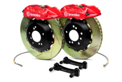 Brembo Red Front Slotted GT Big Brake Kit  - 93-95 Mazda RX-7
