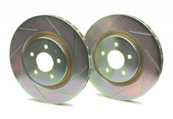 Brembo Sport Cross Slotted 1-Piece Front Brake Rotors - 93-95 Mazda RX-7