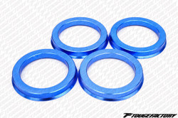 TF Aluminum Hubcentric Rings Honda Mitsubishi 4x100 (56.1mm x 73mm)