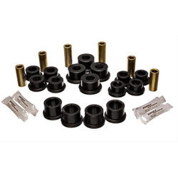 Energy Suspension Black Front Control Arm Bushing Set - 04-11 Mazda RX-8