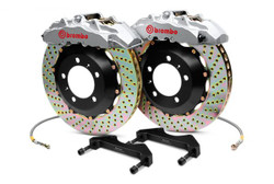 Brembo GT Silver Front Drilled Brake Kit - 90-05 Mazda Miata