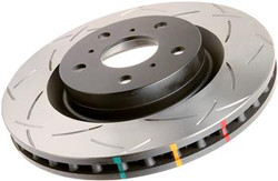 DBA 4000 Series T3 Slotted Front Brake Rotors - 98-05 Lexus GS300/GS400, 01-05 IS300
