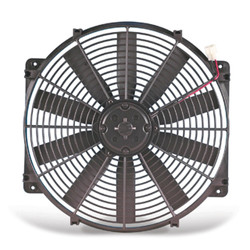 "Flex-a-lite Black 12"" Trimline Electric Fan - 92-00 Lexus SC300/SC400"
