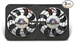 Flex-a-lite Low-Profile S-Blade Electric Fan - 92-00 Lexus SC300/SC400