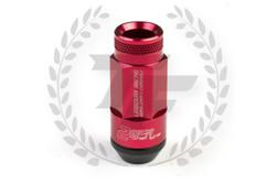 KICS LEGGDURA RACING 2pcs Shell Type Lug Nuts 53mm - Red
