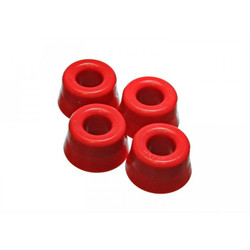 Energy Suspension Red Front Strut Rod Bushing Set - 84-86 Toyota Corolla AE86